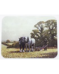 Medium Country Life 'Walk On' Smooth Glass Chopping Board