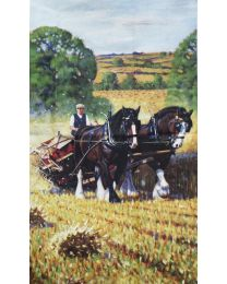 100% Cotton Country Life Tea Towel