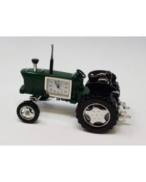 Green Tractor Miniature Clock