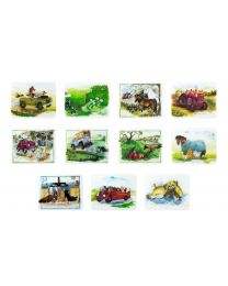 Alisons Animals Kitchen Glass Chopping Boards