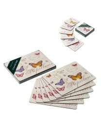 Butterfly Dining Tablemats and Drinks Coasters, sold separate or as set