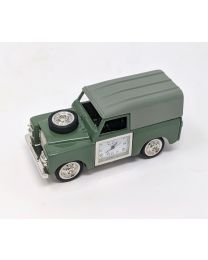 Land Rover Design Novelty Miniature Clock