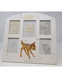 Disney Magical Beginnings Bambi Arched Collage Photo Frame