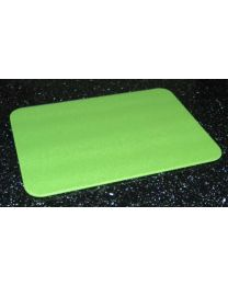 Tuftop Glass Chopping Board in Lime Green Design