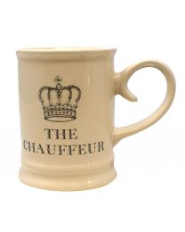 Majestic Cream Ceramic Tankard Mug The Chauffeur