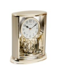 Smart Two Tone Gilt Gold RHYTHM Pendulum Mantel Clock