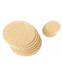 Round Cork Placemats and Drinks Coasters