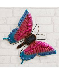 butterfly solar light wall art 5017224882119