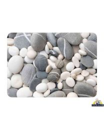 Tuftop Glass Chopping Board in Stones Design