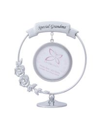 Small Sentimental Special Grandma Keepsake Photo Frame with Swarovski Crystal Elements