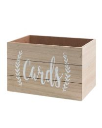 Love Story Rustic Wooden Wedding Card Box For Reception