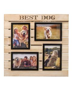 best dog multi photo frame 5017224861107