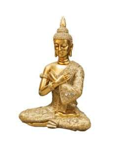 Large Gold Buddha Ornament