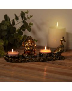 ganesha tealight holder 5017224886520