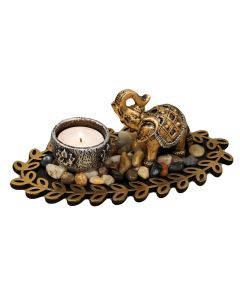 juliana elephant figurine tealight candle holder 5017224851498