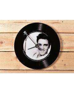 Elvis Presley Photo Record Wall Clock 5017224917576