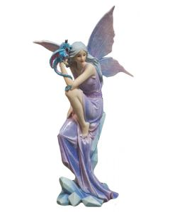 fairy and baby dragon gift ornament 5017224851450