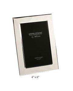 4x6 Plain Silver Photo Frame