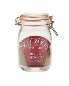 kilner round 1 litre jar stock photo 5010853158396