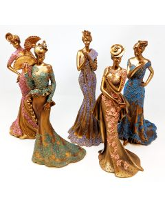 raffles collection lady figurines