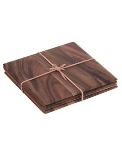acacia wood tablemats stock photo 5013338104840