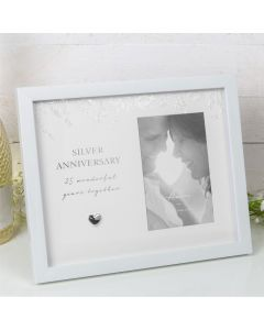 stock photo amore by juliana 25th wedding anniversary photo frame 5017224867703