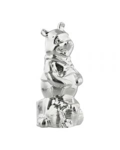 Official Disney Gift Winnie The Pooh Silverplated Money Box