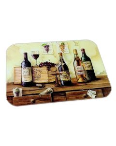 tuftop glass worktop saver french wines design