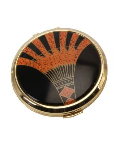 stratton loose powder compact art deco 5017224543577
