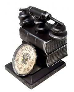 mantel clock telephone design 5017224914049