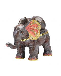 elephant and baby trinket box 5017224923287