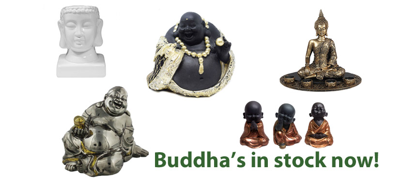Juliana collections buddhas in stock now!