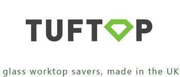 tuftop glass worktop savers logo